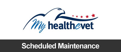 My HealtheVet Scheduled Maintenance